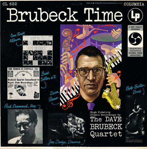 DAVE QUARTET BRUBECK BRUBECK TIME LP VINYL NEW 33RPM