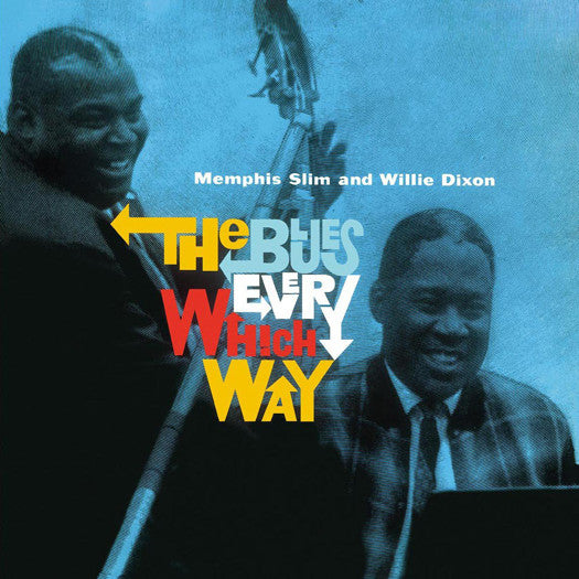 MEMPHIS SLIM & WILLIE DIXON BLUES IN EVERY WHICH WAY LP VINYL NEW 33RPM
