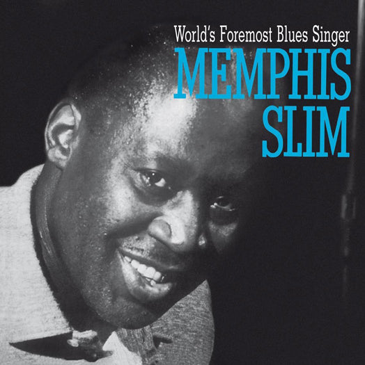 MEMPHIS SLIM WORLDS FOREMOST BLUES SINGER LP VINYL NEW (US) 33RPM