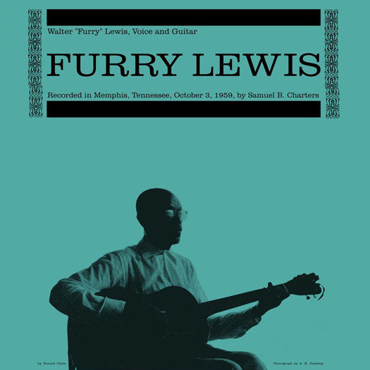 FURRY LEWIS FURRY LEWIS LIMITED EDITION LP VINYL NEW (US) 33RPM