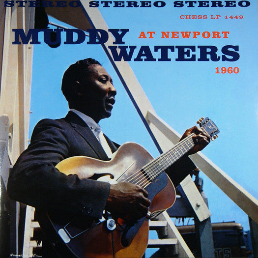 MUDDY WATERS AT NEWPORT 1960 LP VINYL NEW (US) 33RPM