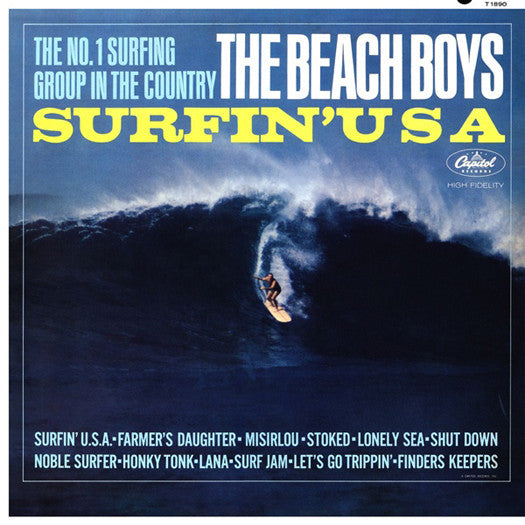 BEACH BOYS SURFIN' U.S.A. LP VINYL NEW 33RPM