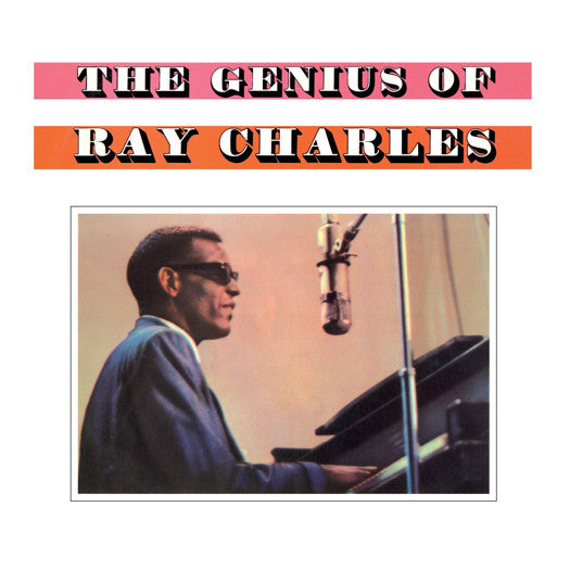 RAY CHARLES Genius Of Ray Charles LP Vinyl NEW 2015