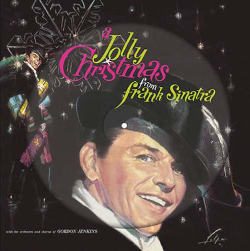 "FRANK SINATRA A Jolly Christmas 12"" Picture Disc Vinyl NEW 2017"