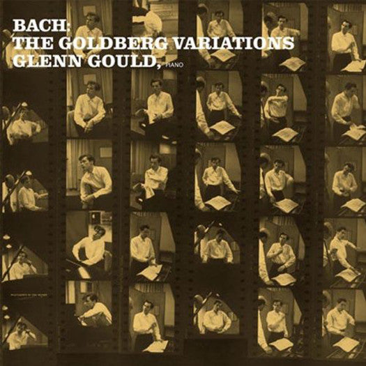 GLENN GOULD BACH THE GOLDBERG VARIATIONS LP VINYL NEW 33RPM