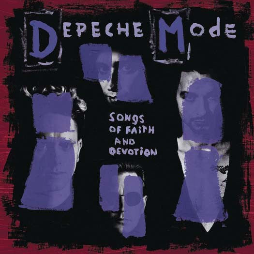 DEPECHE MODE Songs of Faith & Devotion LP Vinyl NEW