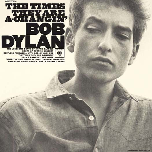 BOB DYLAN The Times They are a Changin' LP Vinyl NEW 2016
