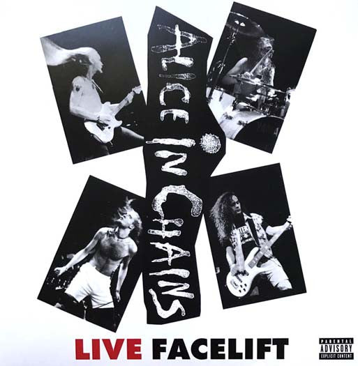 ALICE IN CHAINS Live Facelift LP Vinyl Ltd Ed Reissue NEW 2016