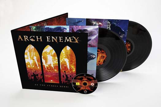 ARCH ENEMY As The Stages Burn Double LP Vinyl NEW 2017