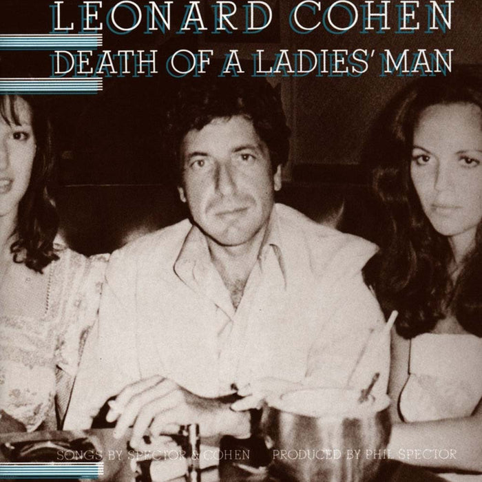 LEONARD COHEN Death Of A Ladies Man LP Vinyl NEW 2017