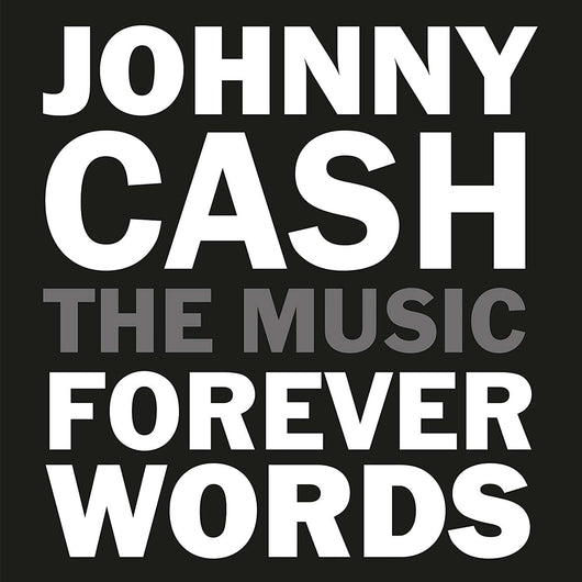 JOHNNY CASH Forever Words LP Vinyl NEW 2018