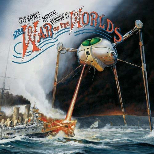 Jeff Wayne - War Of The Worlds Vinyl LP 2018