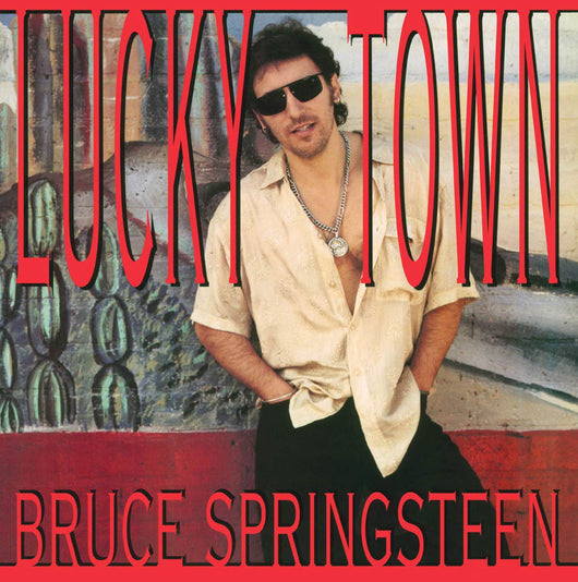 Bruce Springsteen Lucky Town Vinyl LP New 2018