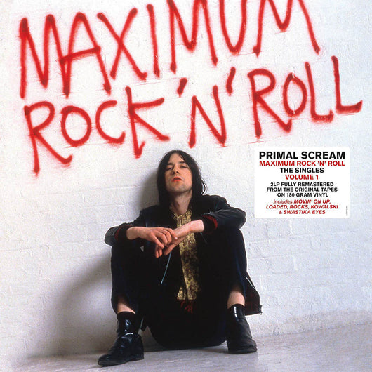 Primal Scream Maximum Rock N Roll Vol 1 Vinyl LP New 2019
