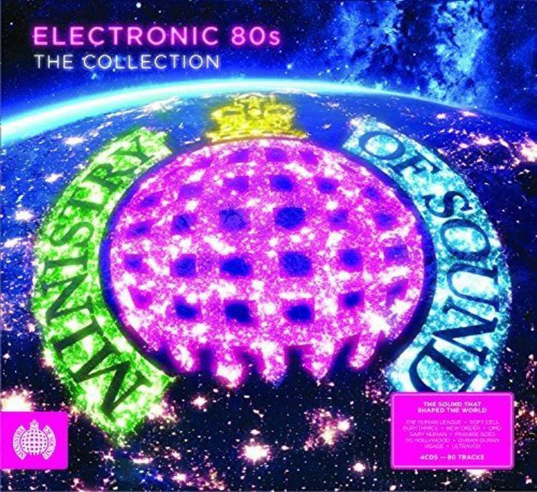 Electronic 80's 2LP Vinyl Compilation NEW 2017