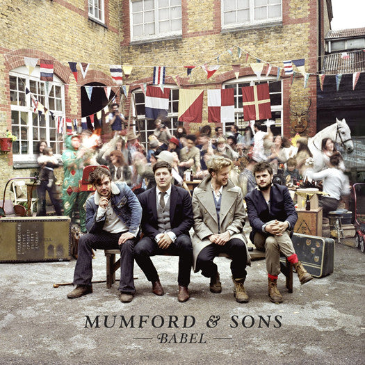 MUMFORD & SONS BABEL LP VINYL NEW (US) 33RPM