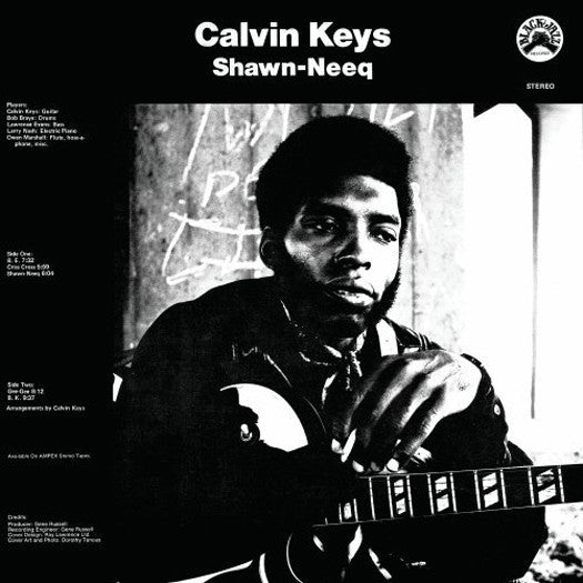 CALVIN KEYS SHAWN-NEEQ LP VINYL NEW (US) 33RPM