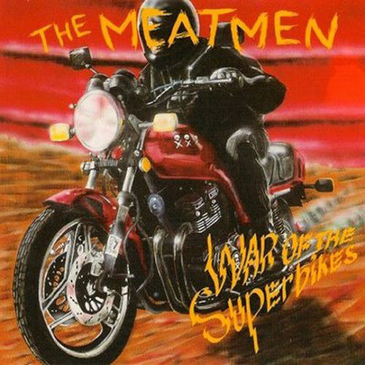 MEATMEN WAR OF THE SUPERBIKES LP VINYL NEW (US) 33RPM LIMITED EDITION