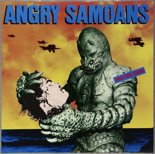 ANGRY SAMOANS BACK FROM SAMOA LP VINYL NEW (US) 33RPM LIMITED EDITION