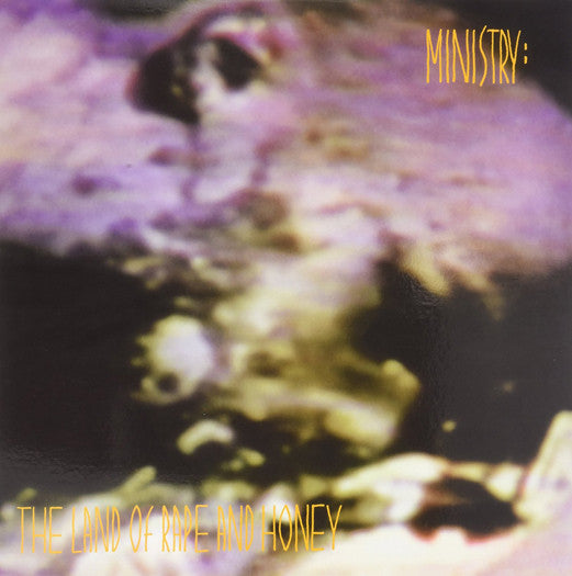 MINISTRY LAND OF RAPE & HONEY (VIOL) LP VINYL NEW (US) 33RPM COLOURED