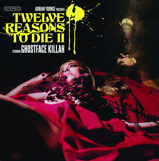 GHOSTFACE KILLAH 12 REASON TO DIE II LP VINYL NEW 33RPM