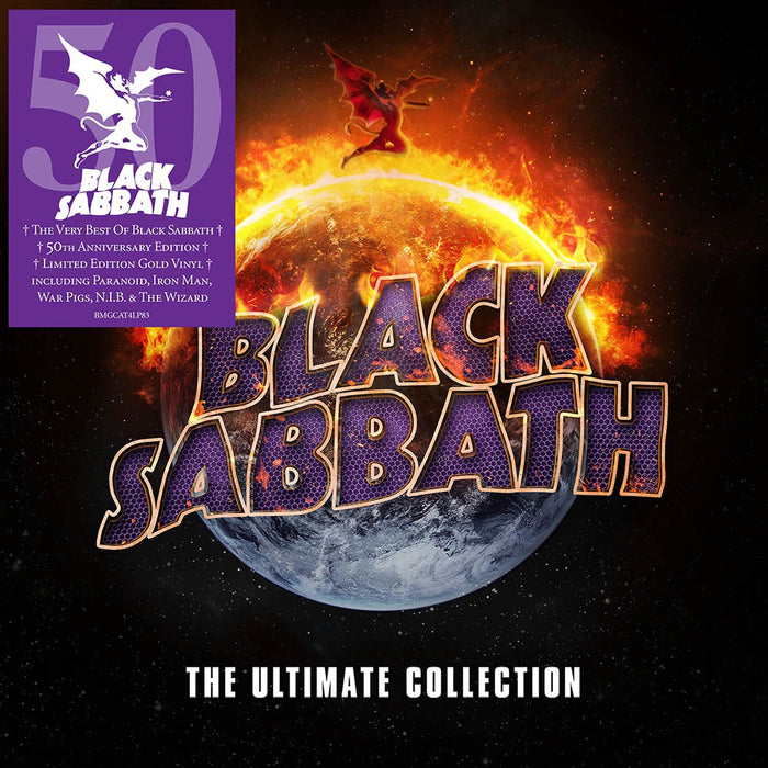 Black Sabbath Ultimate Collection Vinyl LP Gold Colour Set 2020