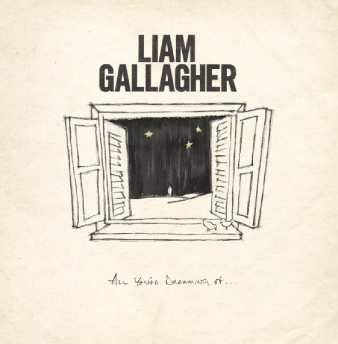 "Liam Gallagher All You're Dreaming Of Vinyl 12"" Single Ltd White Colour 2020"