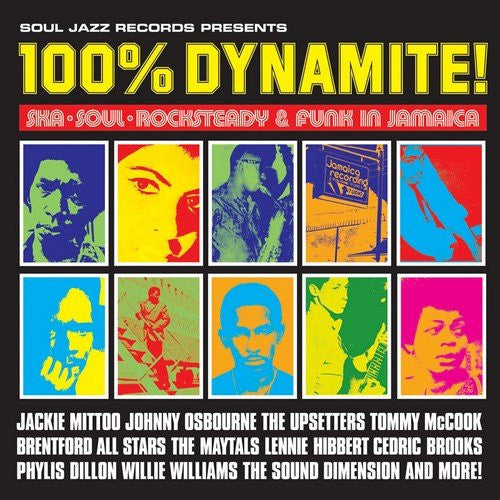 100% DYNAMITE SKA SOUL ROCKSTEADY AND FUNK IN JAMAICA LP VINYL NEW 33RPM