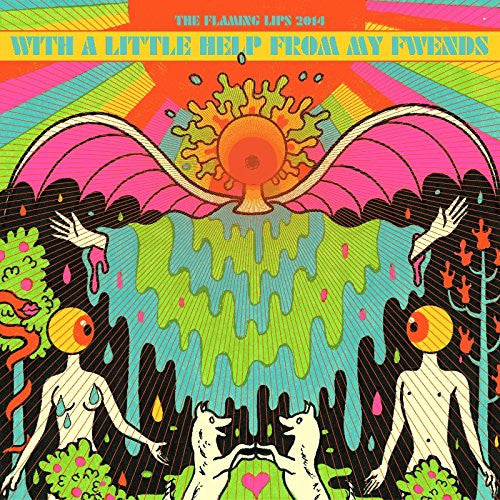 FLAMING LIPS WITH A LITTLE HELP FROM MY FWENDS LP VINYL 33RPM NEW