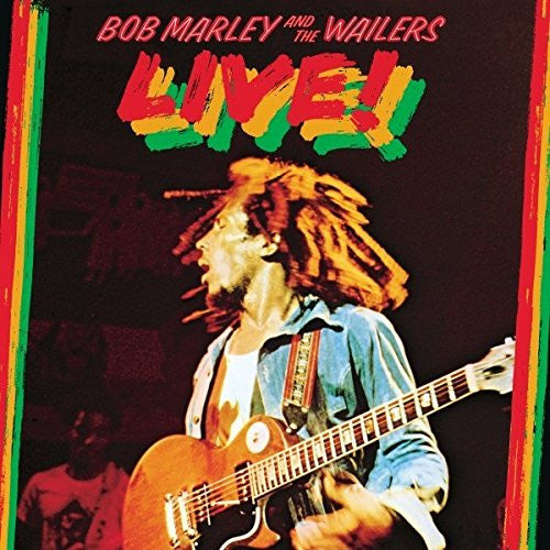 BOB MARLEY AND THE WAILERS LIVE LP VINYL NEW 33RPM 2015