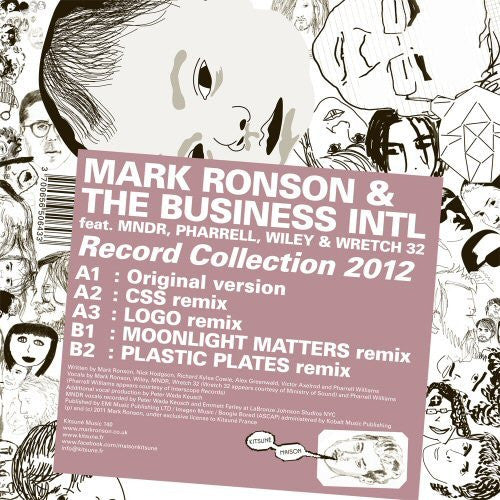 MARK RONSON & THE BUSINESS INTL RECORD COLLECTION 2012 LP VINYL 33RPM NEW