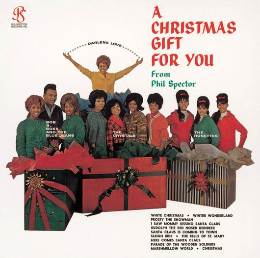 CHRISTMAS GIFT FOR YOU FROM PHIL SPECTOR LP VINYL NEW 33RPM