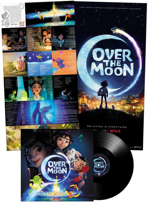 Steven Price - Over The Moon Vinyl LP Soundtrack 2020