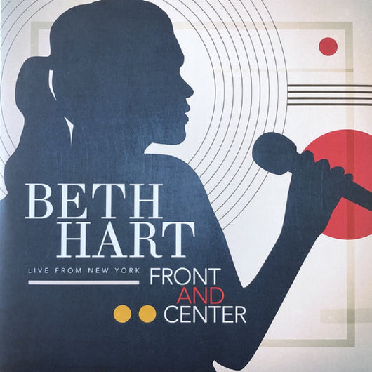 Beth Hart Front & Center Live Transparent Red Vinyl LP New RSD 2019