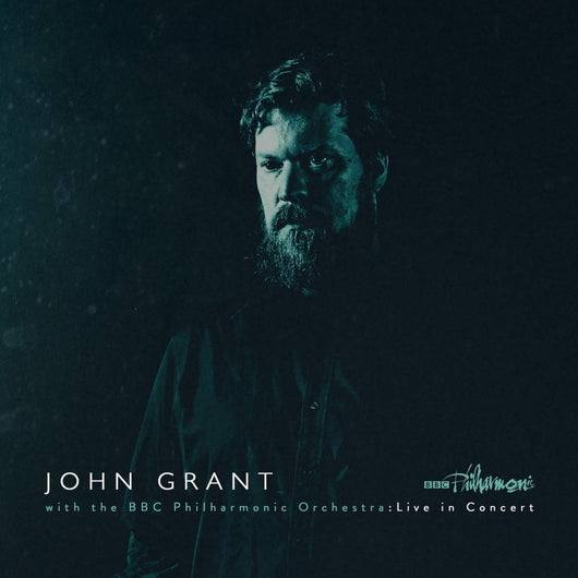 JOHN GRANT AND BBC PHILARMONIC ORCHESTRA LP VINYL NEW 33RPM SILVER VINYL