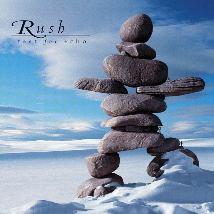 RUSH TEST FOR ECHO DOUBLE LP VINYL NEW 33RPM