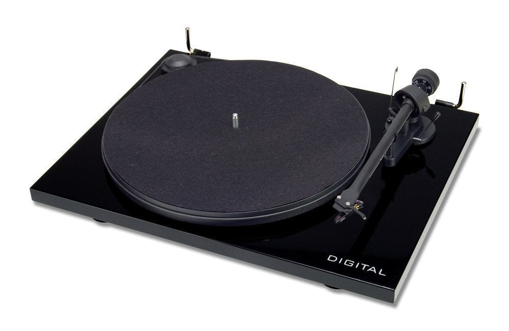 PRO-JECT ESSENTIAL 2 DIGITAL TURNTABLE PIANO BLACK NEW BOXED PROJECT