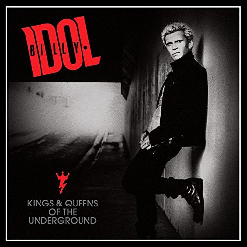 BILLY IDOL KINGS AND QUEENS OF THE UNDERGROUND LP VINYL NEW 33RPM 2014