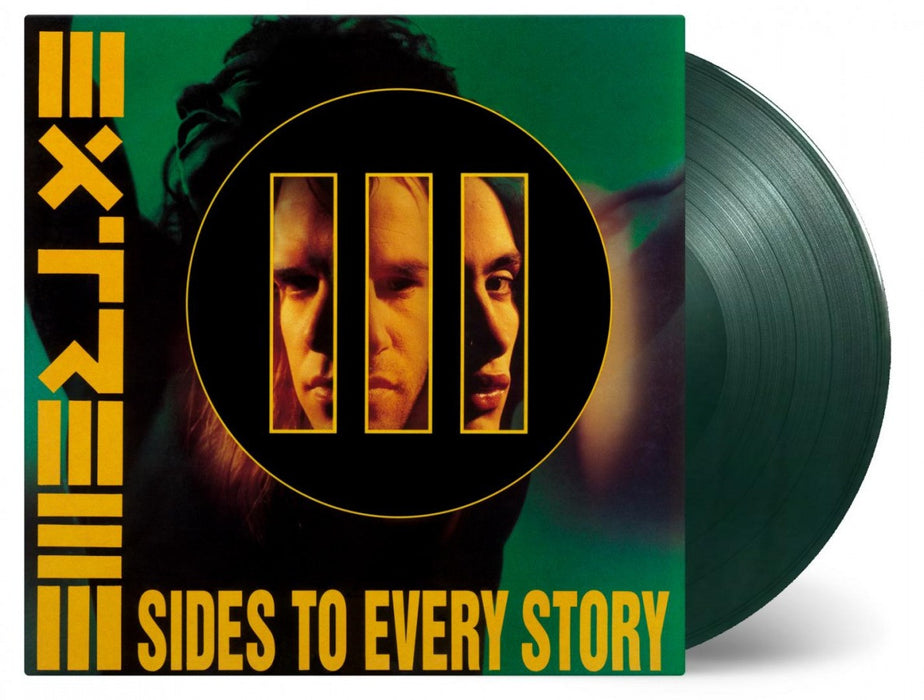 EXTREME 3 Sides To Every Story LP Vinyl NEW 25th Anniversary GREEN 2017
