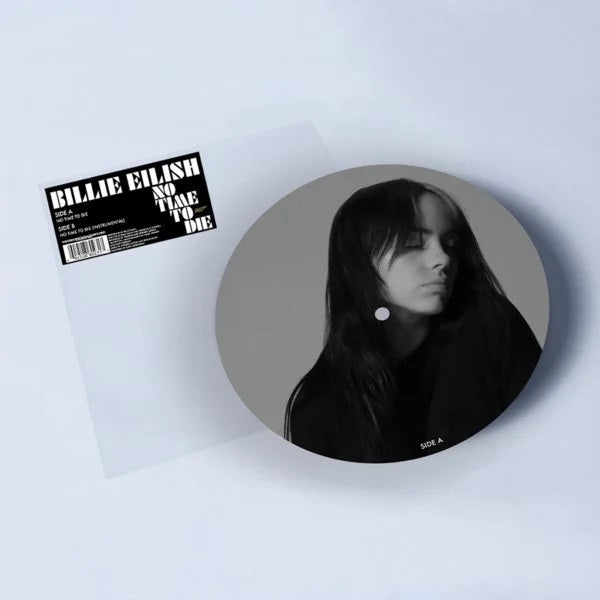 "Billie Eilish No Time To Die 7"" Picture Disc 2020"