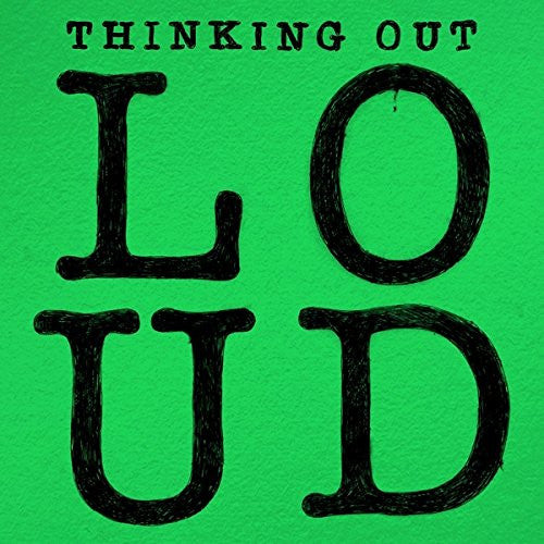"Ed Sheeran Thinking Out Loud 7"" Vinyl Single 2014"