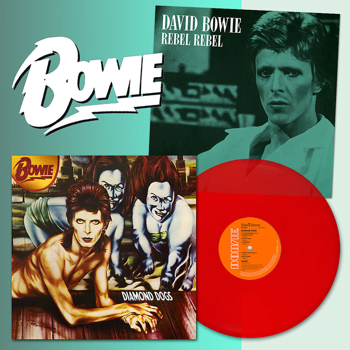 David Bowie Diamond Dogs Ltd Ed Red Vinyl LP 2019