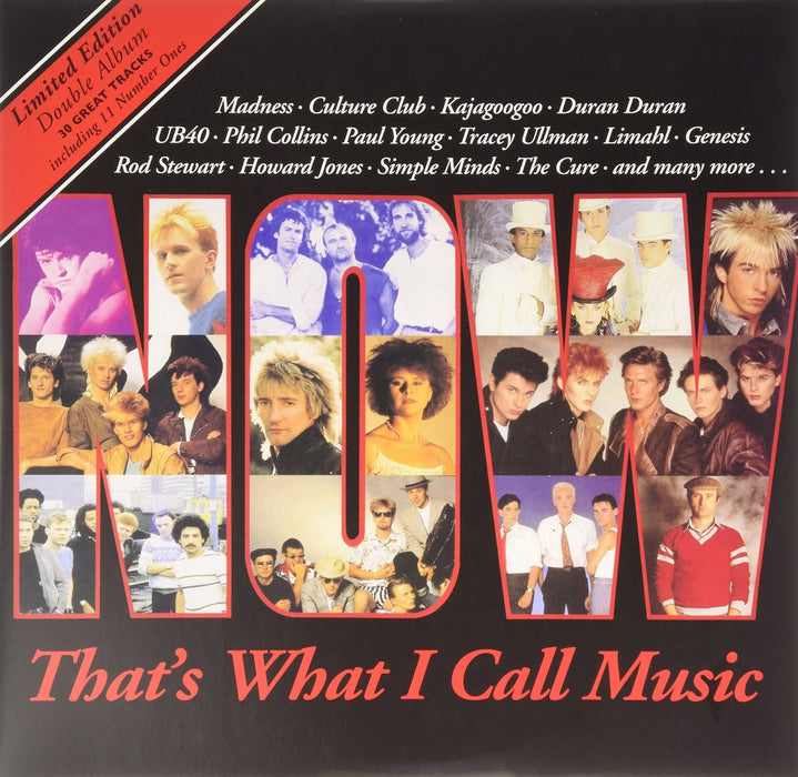 NOW THAT'S WHAT I CALL MUSIC 1 LP VINYL NEW 33RPM