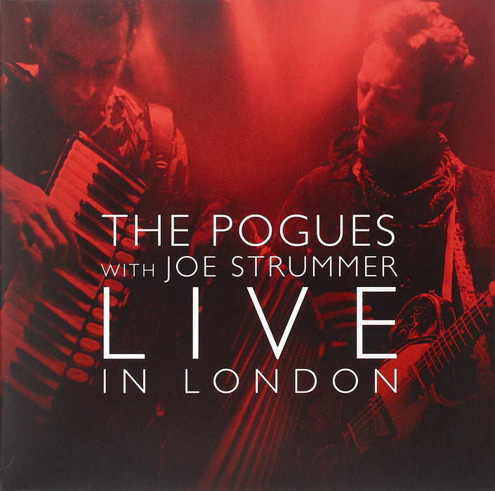 THE POGUES Live with Joe Strummer in London 2LP Vinyl NEW