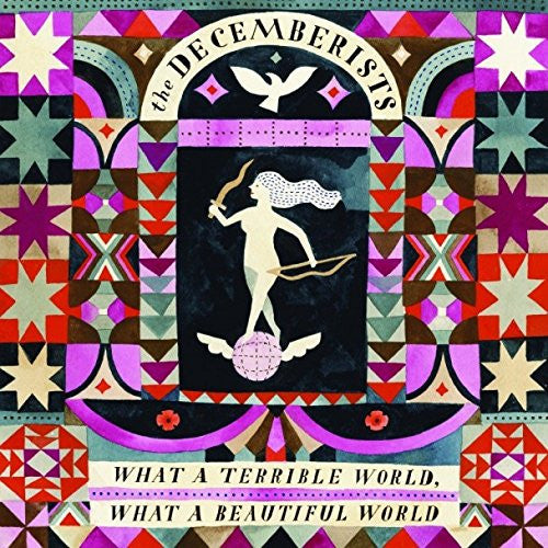 DECEMBERISTS WHAT A TERRIBLE WORLD WHAT BEAUTIFUL WORLD LP VINYL NEW