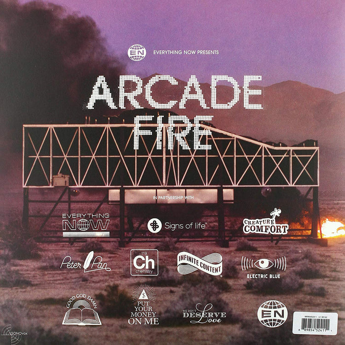 Arcade Fire - Everything Now Vinyl LP German Edition 2017