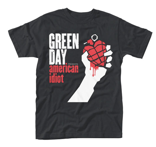 GREEN DAY American Idiot MENS Black SIZE LARGE T-SHIRT NEW