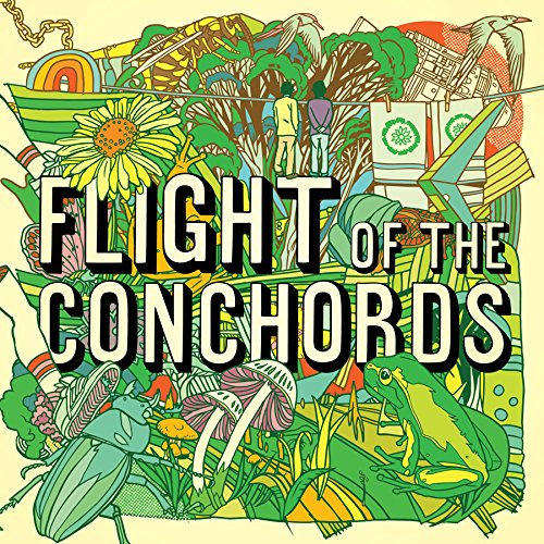 FLIGHT OF THE CONCHORDS LP Neon Yellow Vinyl NEW 2018