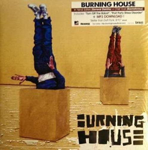 BURNING HOUSE WALKING INTO A BURNING HOUSE LP VINYL 33RPM NEW