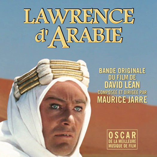 JARRE LAWRENCE D ARABIE SOUNDTRACK LP VINYL NEW 33RPM